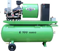 Винтовой компрессор ATMOS Albert E 100 Vario