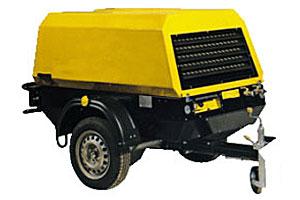 Дизельный компрессор Rotair RM-80