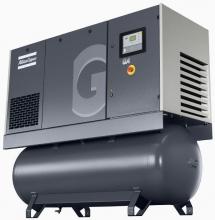 Винтовой компрессор Atlas Copco GA 18 10 с ресивером