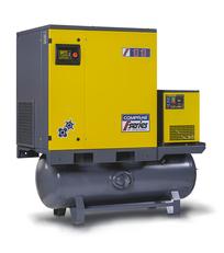 Винтовой компрессор COMPRAG  FR-07 на ресивере (270л)