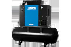 Винтовой компрессор ABAC MICRON.E 5,5 - 270