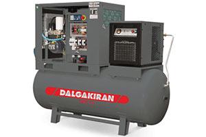 Винтовой компрессор Dalgakiran Tidy 7